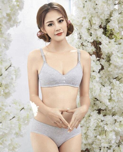 Szivan Cotton Underwear For Girls No Steel Ring -6808