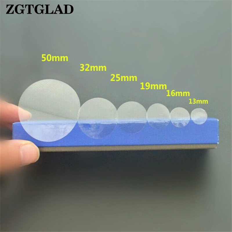1 Sheet Transparent Round Gloss Clear Dot Sticker Self Adhesive Label Wafer Seal