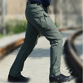 New 2017 Mens Cargo Pants Men Combat Army Military Pants Cotton Pockets Stretch Men's Brand Clothes Male Casual Trouser hot sale