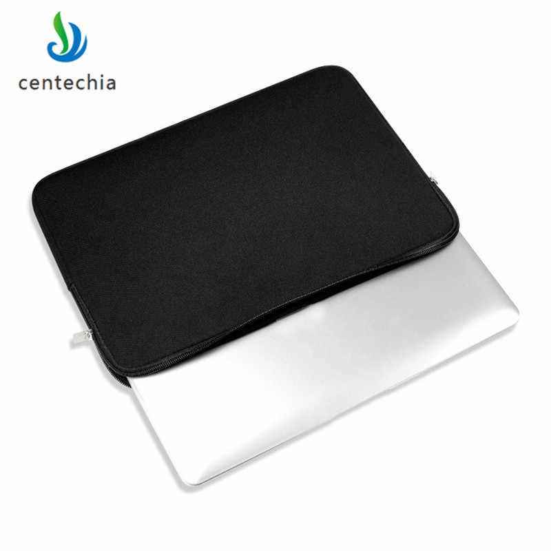 Fermeture À Glissière Portable Ordinateur étui pour macbook Ordinateur Portable AIR PRO Retina 11 12 13 14 15 13.3 15.4 15.6 pouces Touch Bar Sac