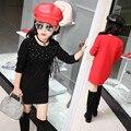 Korean Style Girl Princess Dress Coat Baby Long Sleeve Fleeve Jacket Girl Outwear Children Tassel Clothing For Kids