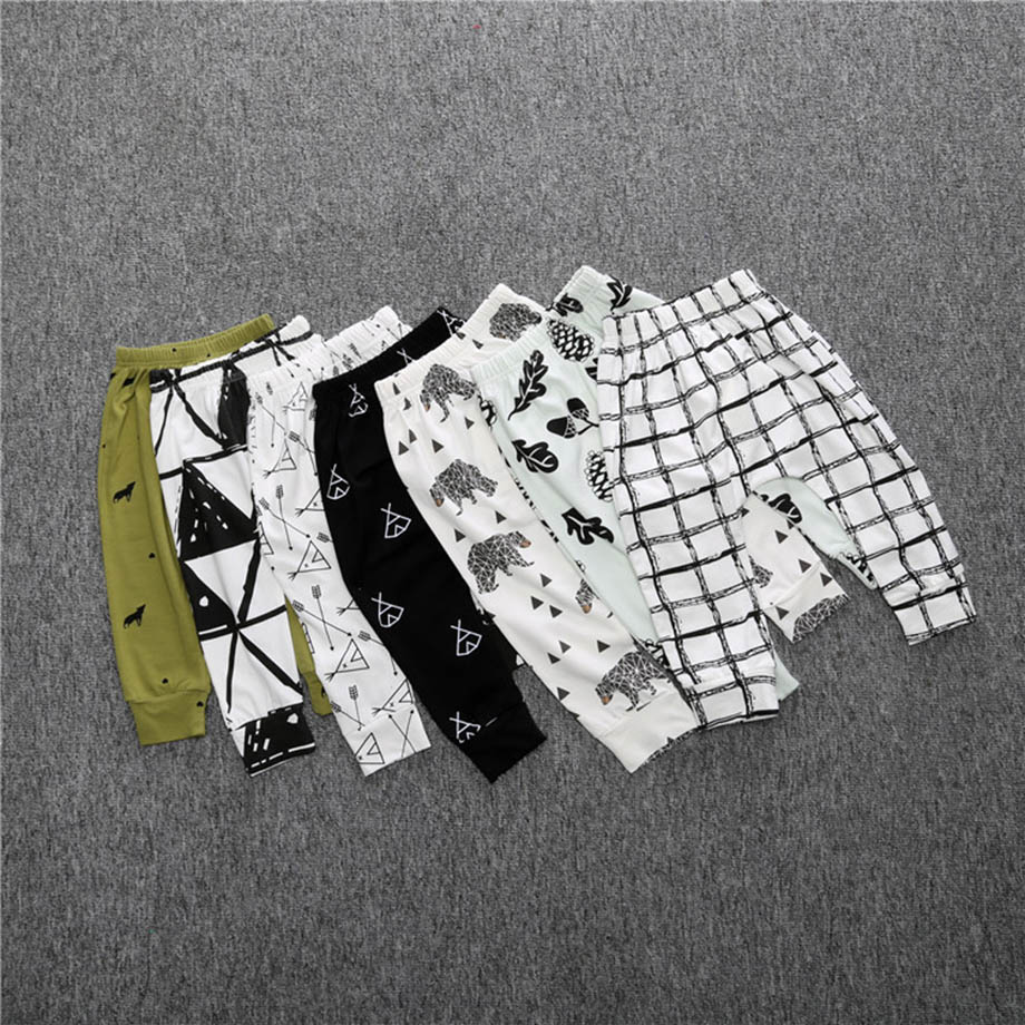 New-2017-Baby-Boys-Girls-Pants-Fashion-Lattice-Pants-Cotton-Baby-Girls-Harem-Pants-For-Baby-Casual-Trousers-Boys-Girls-Clothes-1
