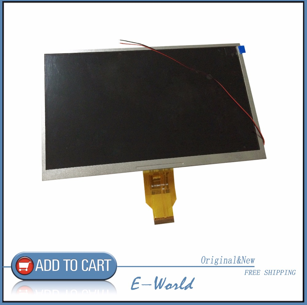 Original and New 10.1inch 40pin LCD screen HSD 10.1 ZNT COWIN for tablet pc free shipping neon sign for donuts bar cakes cave real glass tube beer pub restaurant signboard store display shop light signs 17 14