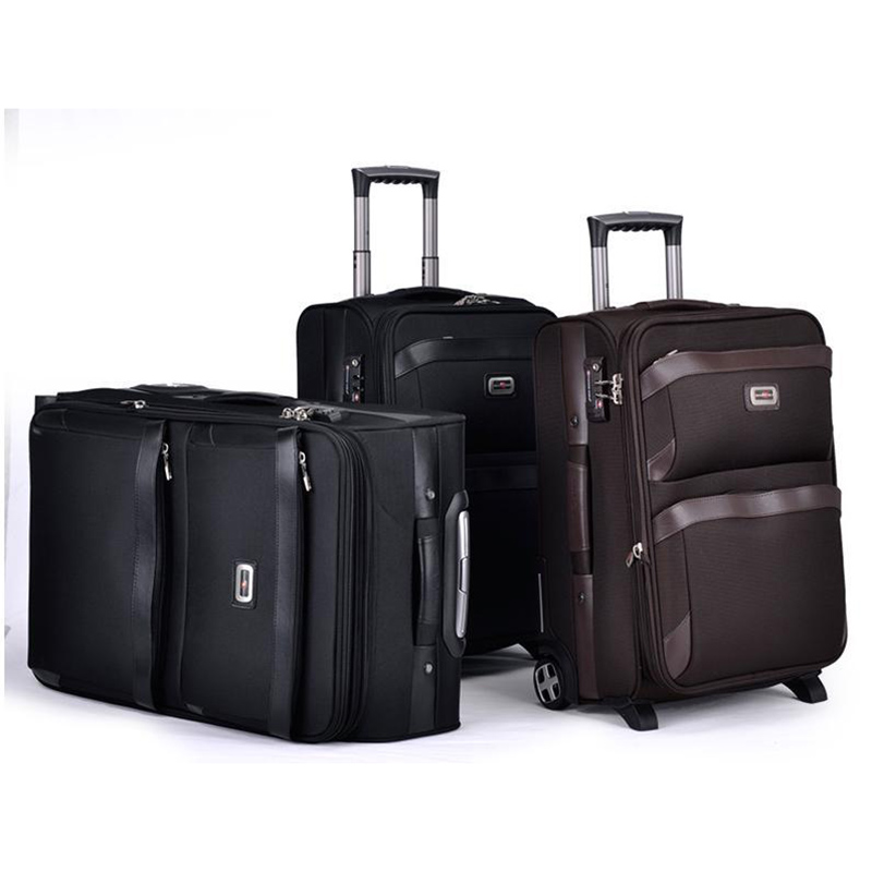 купить New Multifun Men Business Rolling Luggage Casters Travel Duffle Wheel Suitcase Oxford Trolley Carry On Women Password по цене 9418.61 рублей