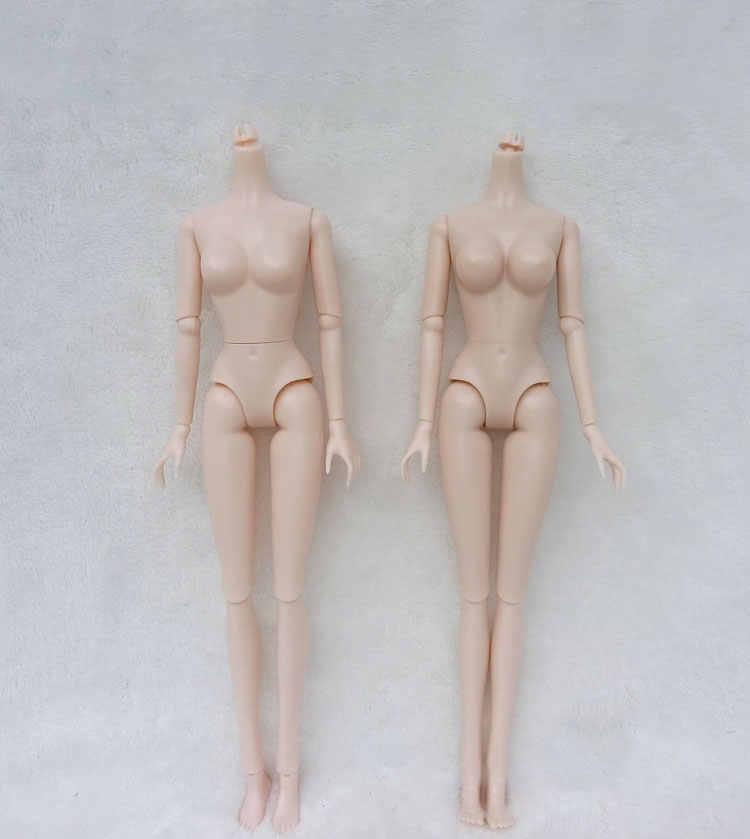 16 articolazioni 1//6 parti del corpo nude della bambola per il corpo bianco