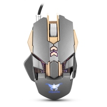 Combaterwing W30 Wired Game Mouse 7 Button 3200DPI Gaming Mouse support 4 Colors Breathing Led Light