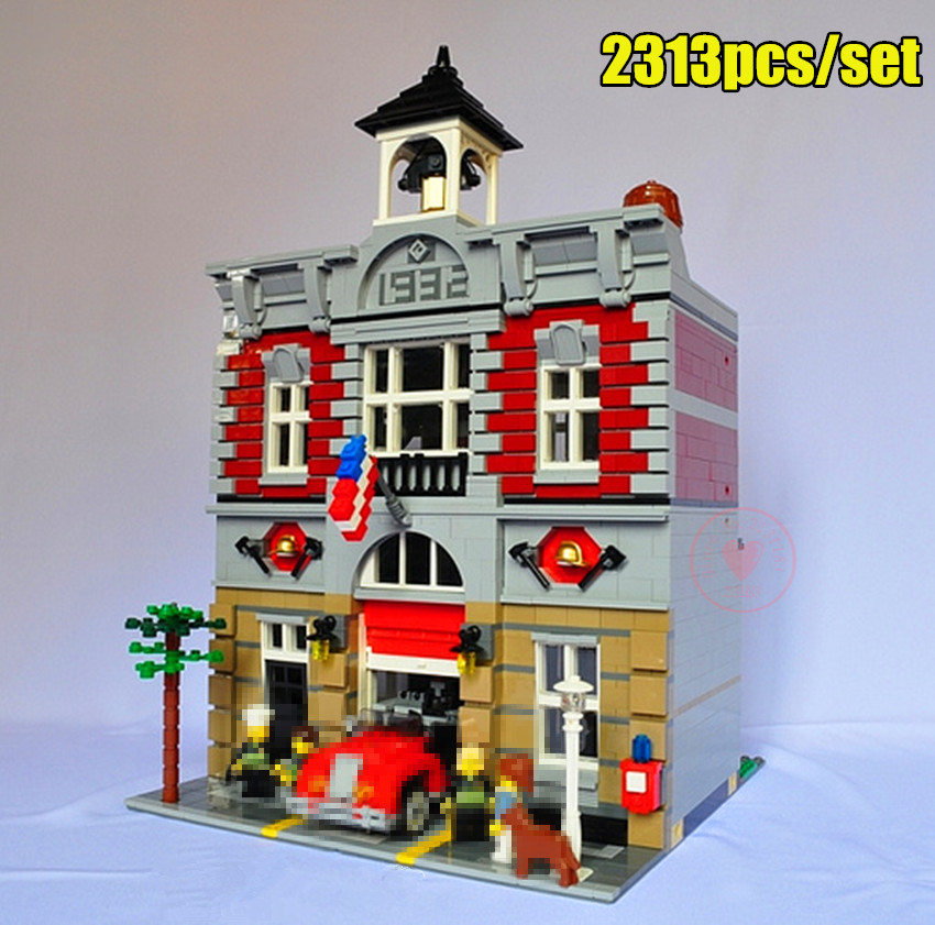 New City Series house fit legoings 10197 creators city set house figures model building kit blocks bricks kid gift diy toys