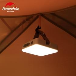 Naturehike Ultra Helle camp zelt Lampe tragbare Funktionale Laterne LED wiederaufladbare outdoor hand Lampe Super helle 7-180 stunden