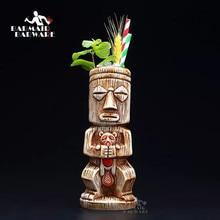450ml ceramiczny kubek Tiki kreatywna porcelana piwo kubek do wina kubek narzędzie barowe