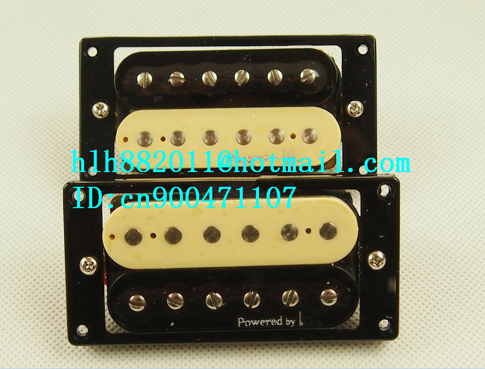 free shipping new electric guitar pickup in black and yellow made in South Korea  LA-8325 free shipping new electric guitar double coil pickup chb 5 can cut single art 46