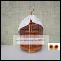 33cm old bamboo bird cage thrush starling scorpion cage bird cage accessories