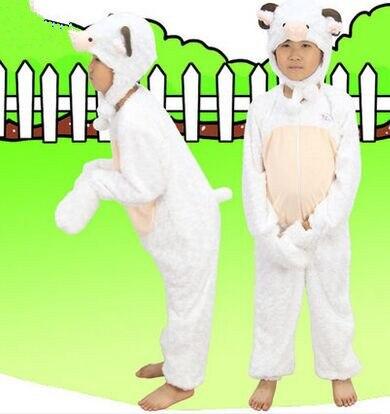 Costume de mouton pour garçons enfants costume animal enfants costume animal costume pour enfants animal cosplay halloween vêtements