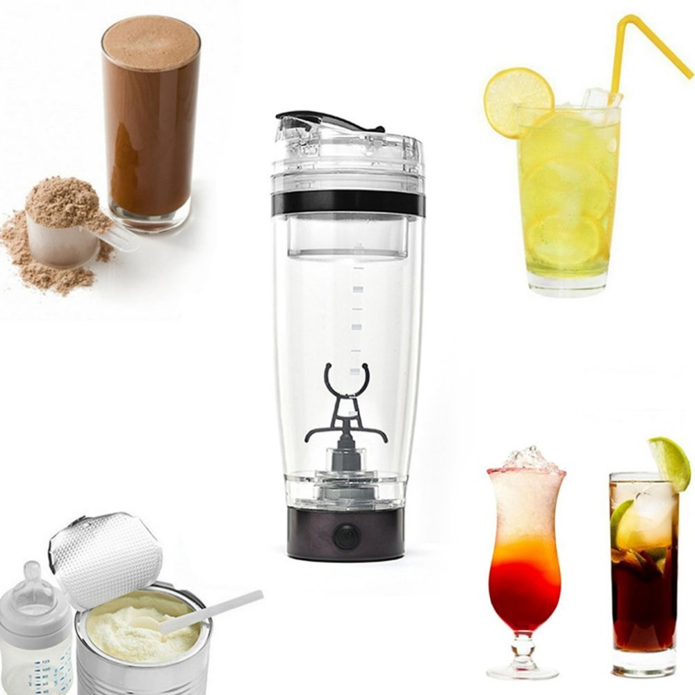 600ML Auto Mixing Milk Shake Cup Smart Self Stirring Water Cup Electric Coffee Cup USB Charging Automatic Electric Coffee Cups