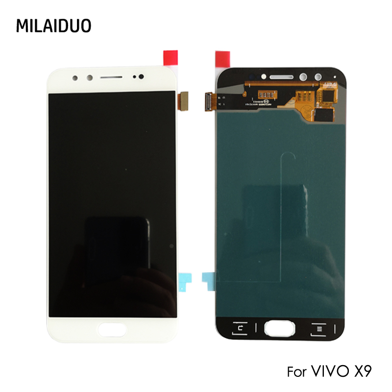 Original/OEM Super AMOLED For VIVO X9 LCD Display Touch Screen Digitizer OLED Assembly Replacement No Frame 5.5 inch WhiteOriginal/OEM Super AMOLED For VIVO X9 LCD Display Touch Screen Digitizer OLED Assembly Replacement No Frame 5.5 inch White