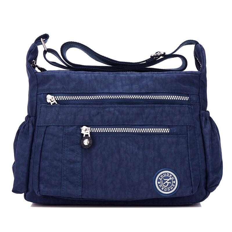 Women Messenger Bags Nylon Casual Shoulder bag Handbags Female Zipper Crossbody Bag for Woman Designer Beach Casual Tote Sac