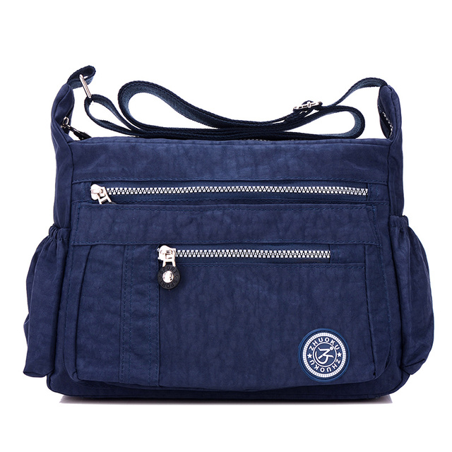 26100cfbe357 Women Messenger Bags Nylon Casual Shoulder bag Handbags Female Zipper Crossbody  Bag for Woman Designer Beach Casual Tote Sac