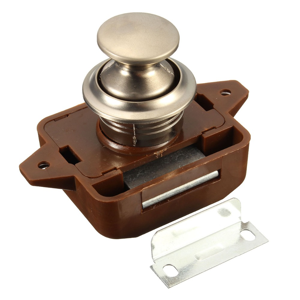 New Push On Cabinet Latch For Rv Motor Home Caravan Lock Cupboard In Parts Accessories From Automobiles Motorcycles