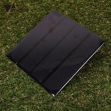 amzdeal New 4.5W 6V Monocrystal Solar Panel Photovoltaic Plate Battery Professional Outdoor Travelling Powerbank Board DIY Cell