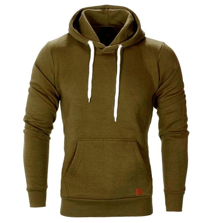 Mountainskin Mens Hoodies Solid Spring Autumn Hooded Coat Men Hip Hop Sweatshirt Casual Slim Sportswear Tracksuit SA684