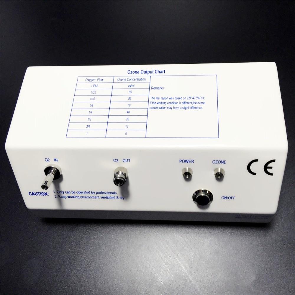 Лаборатория озона генератор медицинского озона терапии высокое качество кварцевого стекла, трубы titanium электрода стабильной концентрации
