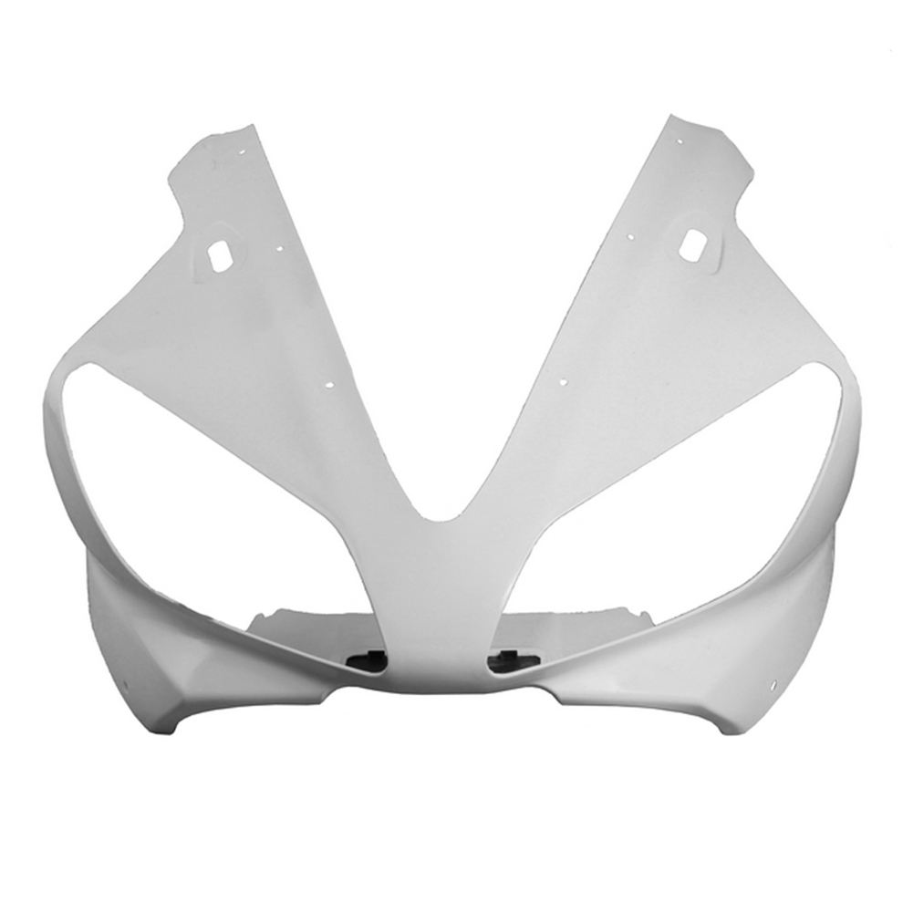 For Yamaha YZF R1 Upper Front Nose Cowl Fairing 2000 2001 Motorbike Part Accessories Injection Mold ABS Plastic Unpainted White For Yamaha YZF R1 Upper Front Nose Cowl Fairing 2000 2001 Motorbike Part Accessories Injection Mold ABS Plastic Unpainted White