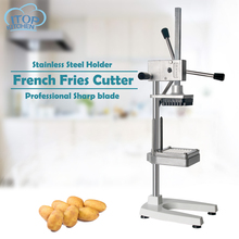 Vertical Manual French Fries Cutting Machine Potato Vegetable Cutter Commercial Kitchen Potato Chipper Accessories недорго, оригинальная цена
