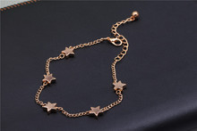 Ankle bracelet anklets for women Star pendant foot jewelry accessories ankle bracelets & bangles jewelry Gift for woman jewelry