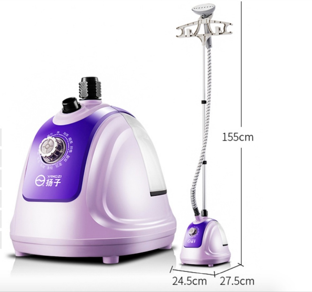 1.4L 1500W 45s Fast Steam Up Vertical Clothes Garment Steamer Garment Steamer 45s Steam Brush