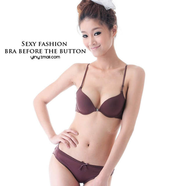 83bea3760a Yenlice AB cup Sexy Women push up Bra Front Closure The Back Y-line Straps