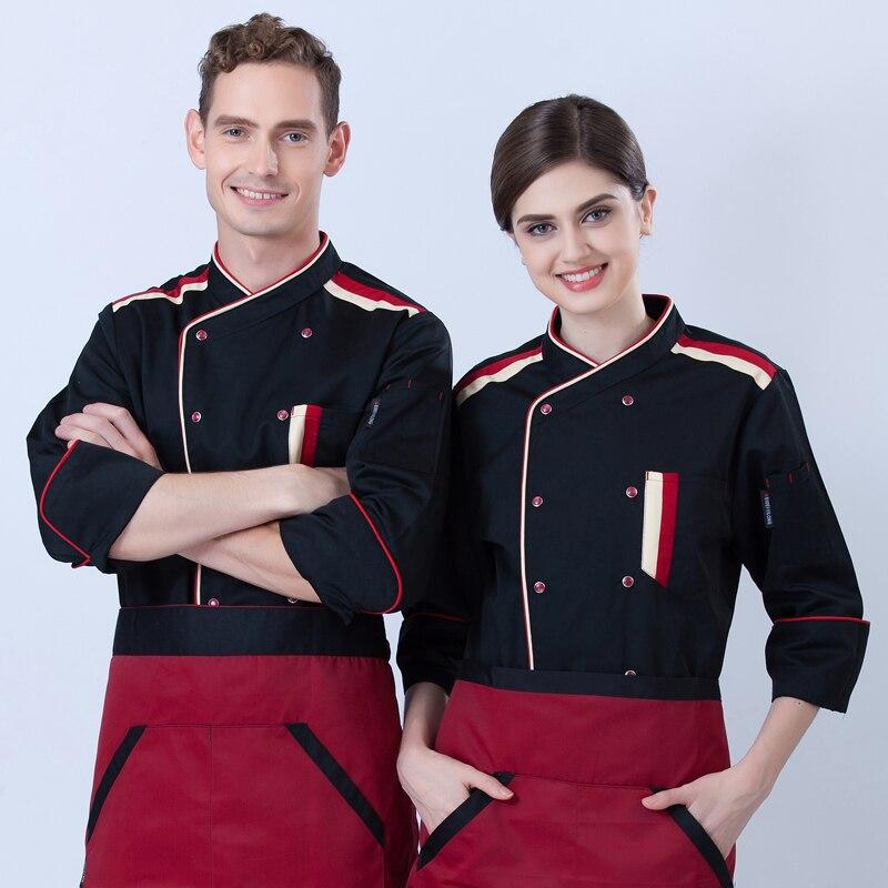 manica Giacca e lavoro Wear rossa inverno da nera lunga autunno e cwgCYARqw