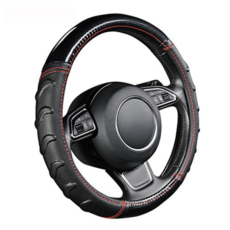 Fashion Massage Steering Wheel Cover For Toyota RAV4 <font><b>rav</b></font> <font><b>4</b></font> <font><b>2004</b></font> 2008 2013 tacoma tercel venza vios vitz Yaris <font><b>2004</b></font> 2007 2008 image