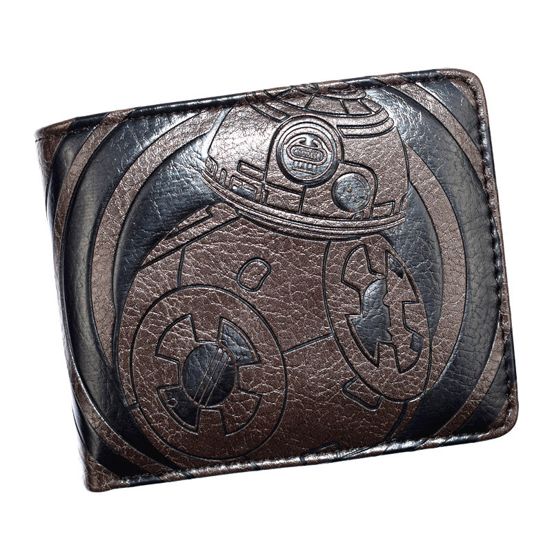 New Arrival High Quality Men's Wallet Star Wars/Undertale/Doctor Who Wallets Short Purse for Young(China)