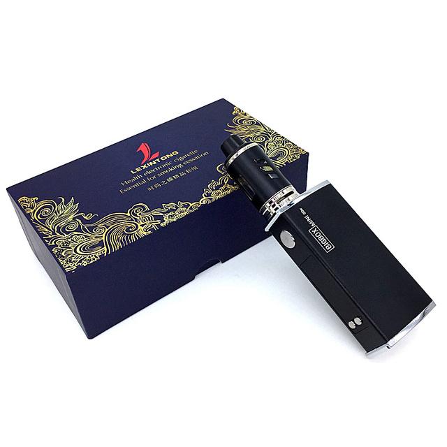 Original 80W Vape Electronic Cigarette Mech Box Mod Vaporizer Hookah Vaper E Smoke Shisha Pen Smoking Kit Safe Vaping Huge Vapor