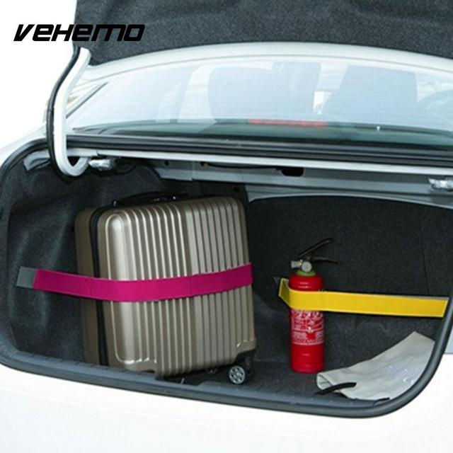 Car Trunk Interior Strap Fixed Storage Tidying Sticky Tape Supplies 20 CM 6 Color