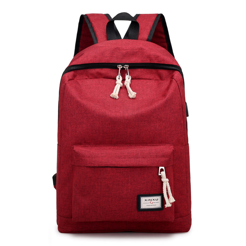 dower me AA41-49 2018 Backpacks Travel Teenage College Canvas Backpack Women  Purple Knapsack School e96138c488df7