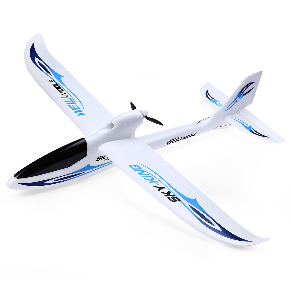 WLtoys RC Drone Dron Sky King 2.4G 3CH Flying Aircraft Wingspan RTF Airplane with LCD Transmitter Remote Control Quadcopter Toys x uav mini talon epo 1300mm wingspan v tail fpv rc model radio remote control airplane aircraft kit