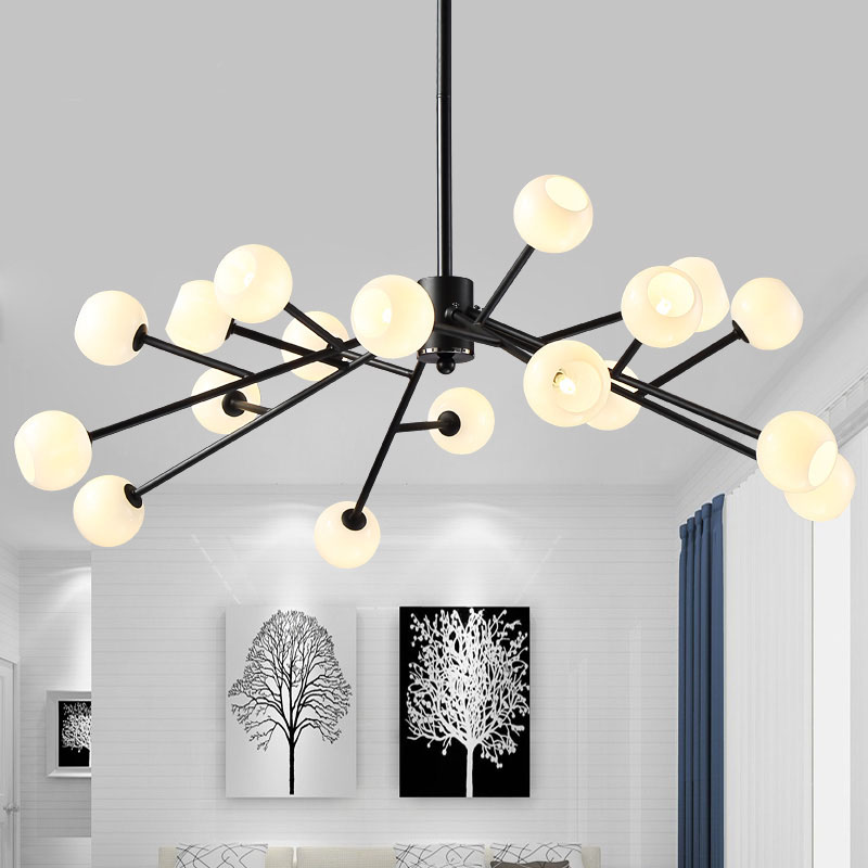 Modern magic beans DNA Lustres pendant light industrial Modo Jason miller lamps Nordic Art Deco glass ball MOD hanging lightingModern magic beans DNA Lustres pendant light industrial Modo Jason miller lamps Nordic Art Deco glass ball MOD hanging lighting