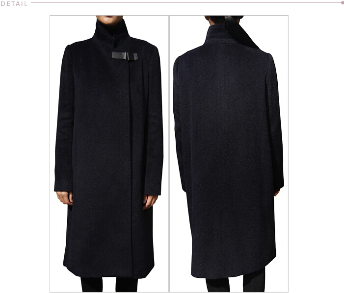 Women Cashmere Coat Spring Autumn Coats Long Fashion Elegant Wool Trench  Coat Camel Brown Black Overcoat Wool Coats-in Wool   Blends from Women s  Clothing ... 734fe20cb