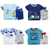 Summer Brand Children Clothing Set Baby Boys Clothes Spring Set Clothing Long Sleeve Shirt Pants School