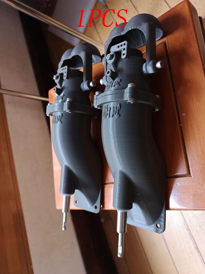 1pcs 80mm Driven Thruster Jet Pump Motor Sprayer Underwater Pumps with 30kg Thrust 3D Print Parts for RC DIY Boats 8mm Shaft Kit1pcs 80mm Driven Thruster Jet Pump Motor Sprayer Underwater Pumps with 30kg Thrust 3D Print Parts for RC DIY Boats 8mm Shaft Kit
