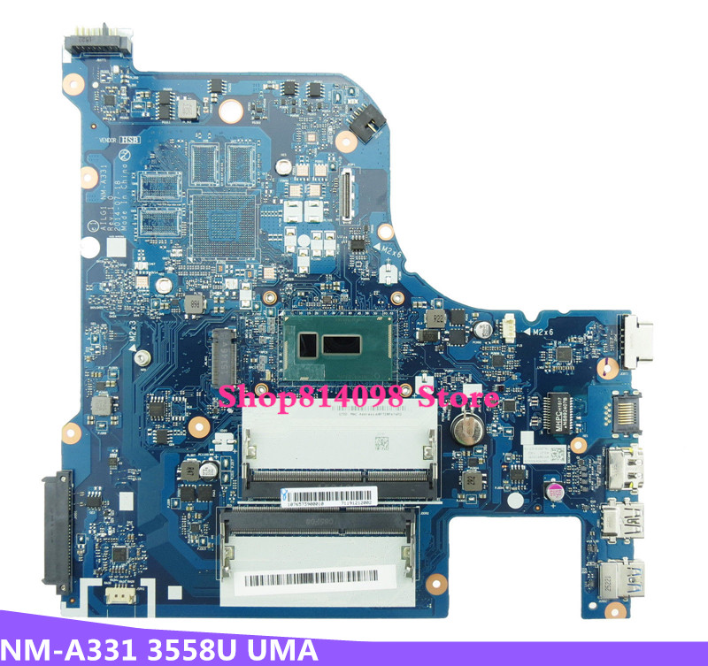 KEFU For Lenovo Z70-80 Z70-70 G70-80 G70-70 AILG1 NM-A331 with 3558U CPU Classy Laptop Motherboard DDR3 100%Tested цена в Москве и Питере