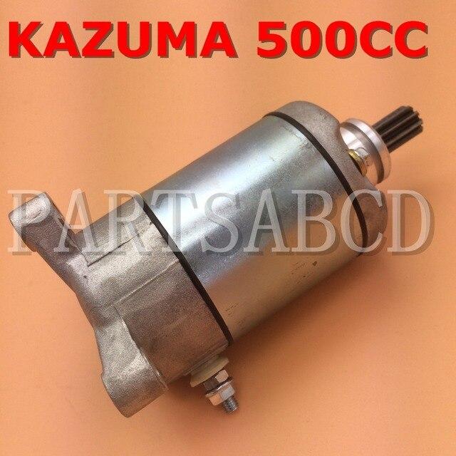 PARTSABCD 500 500CC 4x4 Quad Moto ATV 12 v Peças de Motor de Arranque Para Kazuma XinYang Jaguar Polaris