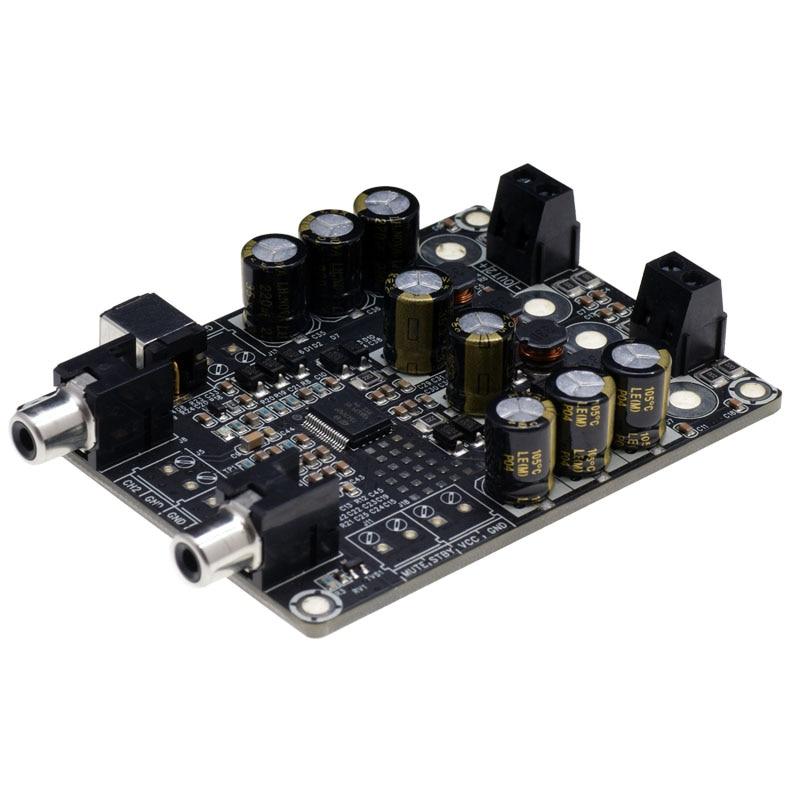 2x25 Вт двухканальный D Тип низкой мощности цифровой аудио усилитель платы