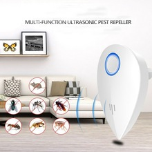 Multi-function Ultrasonic Electronic Repeller Repels Mice Bed Bugs Mosquitoes Spiders Insect Repellent Killer Z