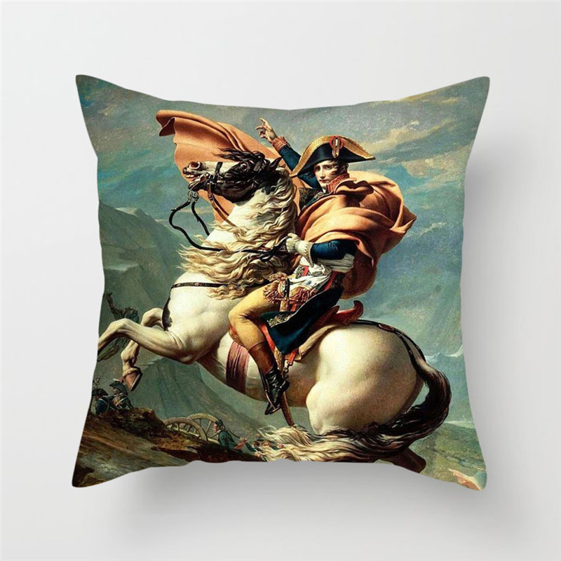 Fuwatacchi Van Gogh Painting Print Cushion Cover Plant Sunflower Pillow Cover Sofa Chair Home Decor Square Pillowcases in Cushion Cover from Home Garden
