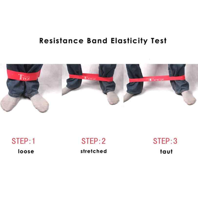 TTCZ Yoga Pilates Tập Thể Dục Vòng Sức Đề Kháng Cao Su Bands Resistance Thể Dục Căng Vòng Lặp rope Crossfit Ban Nhạc đối với thể hình