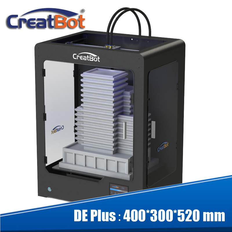 High Quality Precision large 3d Printer kit 400*300*520 mm with 2 - Office Electronics - Photo 1