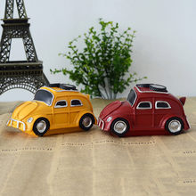 Retro Vintage Resin Car Resin Creativity Furnishing Figurines House Handwork Craft Decor Gifts Home Decoration(China)