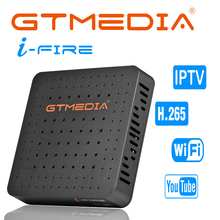 New Arrival GTmedia IFIRE TV Box 4K HDR STB BOX Ultra HD WIFI Xtream IPTV Stalker IPTV Youtube Set top Box Media Player Internet цена
