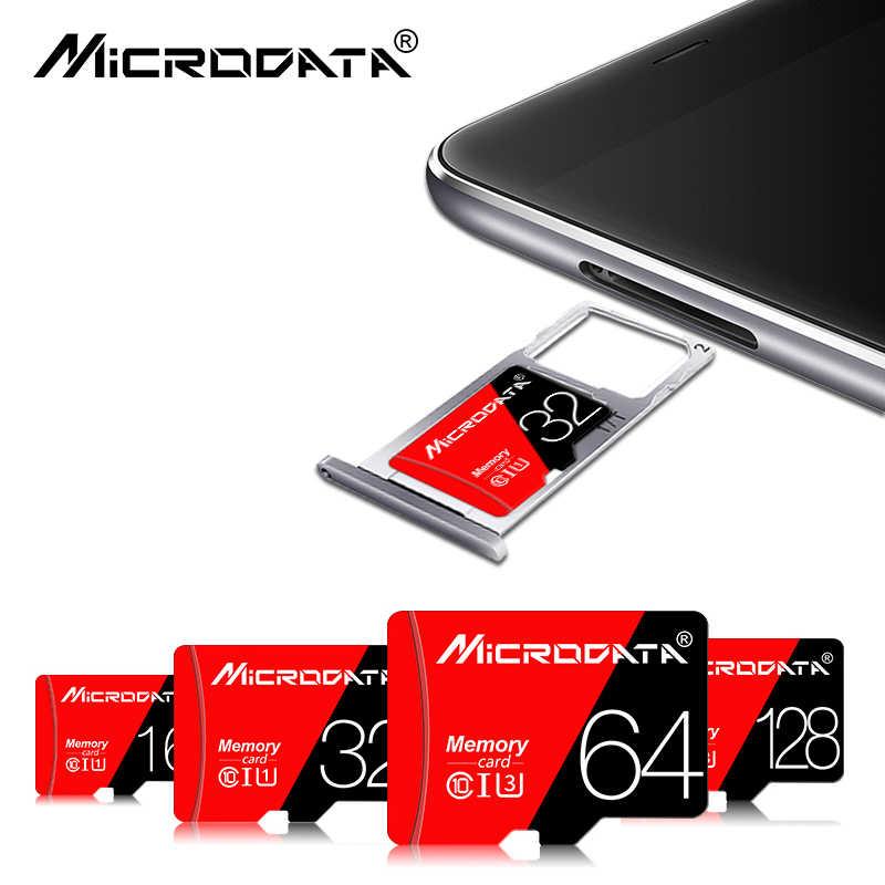 Carte mémoire classique capacité réelle 256GB 128GB 64GB micro sd haute vitesse classe 10 U1 U3 carte sd 32GB 16GB mémoire stick sd